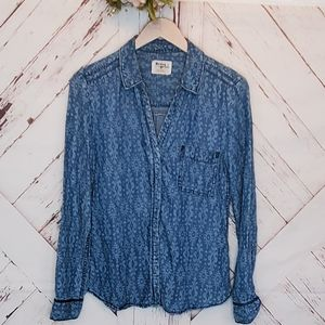 Anthro Holding Horses Buttoned Down Shirt 6